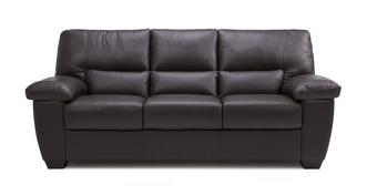 Avail Leather and Leather Look 3 Seater Sofa