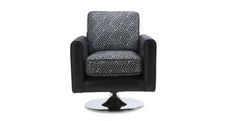Avici Pattern Swivel Chair