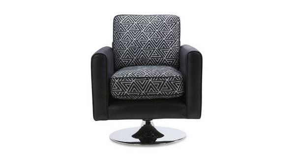 Avici Pattern Swivel Chair