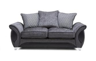 2 Seater Deluxe Pillow Back Sofa Bed Avici