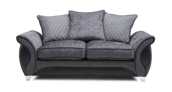 Avici 2 Seater Deluxe Pillow Back Sofa Bed