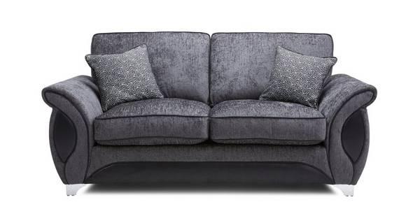 Avici 2 Seater Supreme Formal Back Sofa Bed