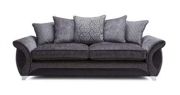 Avici 4 Seater Pillow Back Sofa
