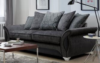 Avici 4 Seater Pillow Back Sofa Avici