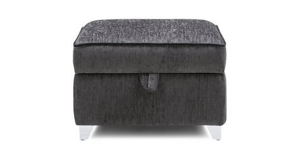 Avici Plain Storage Footstool