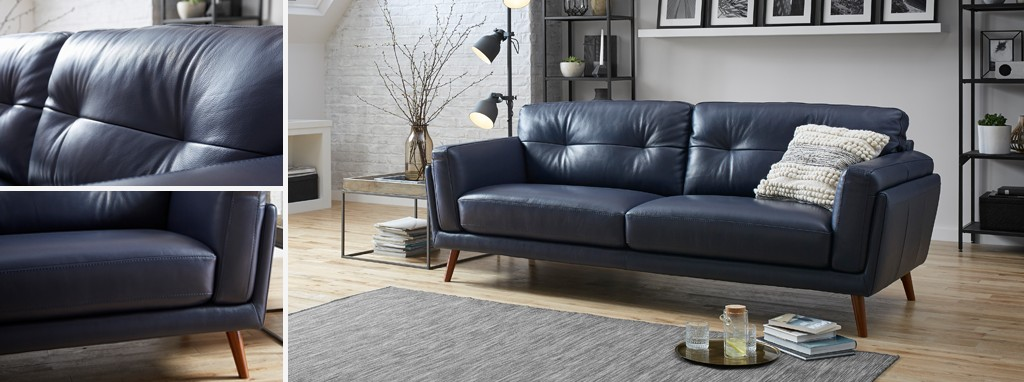 Axel 3 Seater Sofa New Club Dfs Ireland