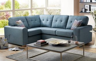 Ayda Right Hand Facing 2 Seater Corner Sofa Revive