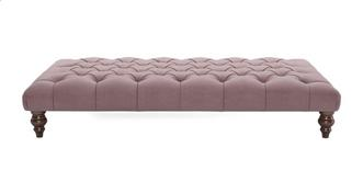 Bailey Velvet Large Footstool