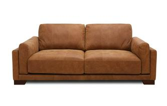 3 Seater Sofa Saddle