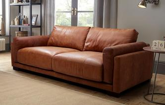 Balboa 4 Seater Sofa Saddle