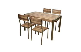 Small Fixed Top Table & Set of 4 Chairs
