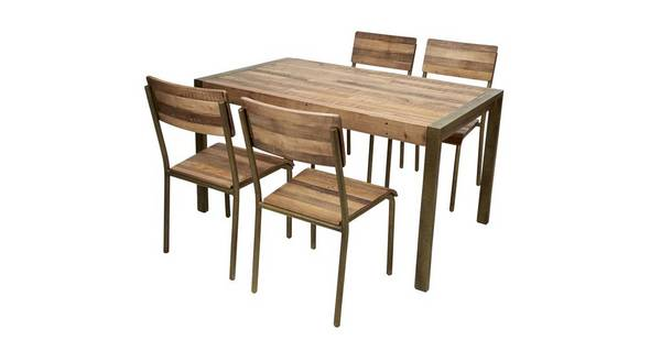 Barclay Small Fixed Top Table & Set of 4 Chairs