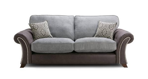 Barnaby 3 Seater Formal Back Sofa