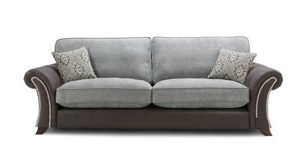 Barnaby 4 Seater Formal Back Sofa