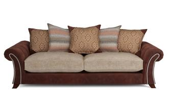 Barnaby 4 Seater Pillow Back Sofa Barnaby
