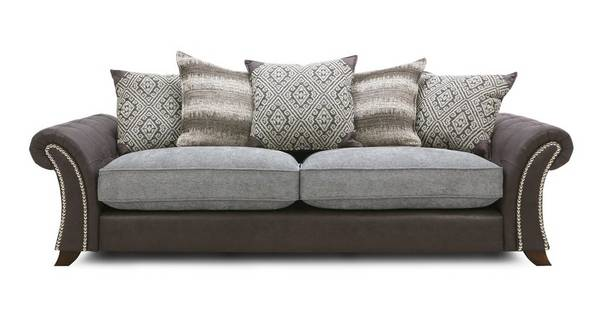 Barnaby 4 Seater Pillow Back Sofa
