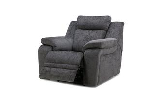 Electric Recliner Chair Barrett Plain