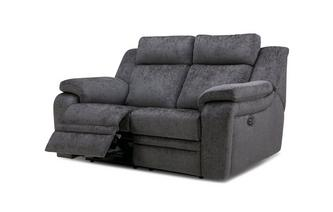 2 Seater Power  Recliner Barrett Plain