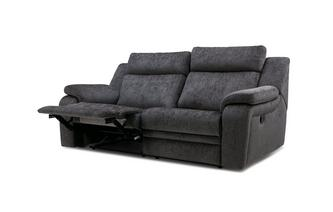 3 Seater Manual Recliner Barrett Plain