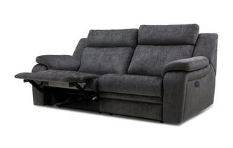 3 Seater Electric Recliner Barrett Plain