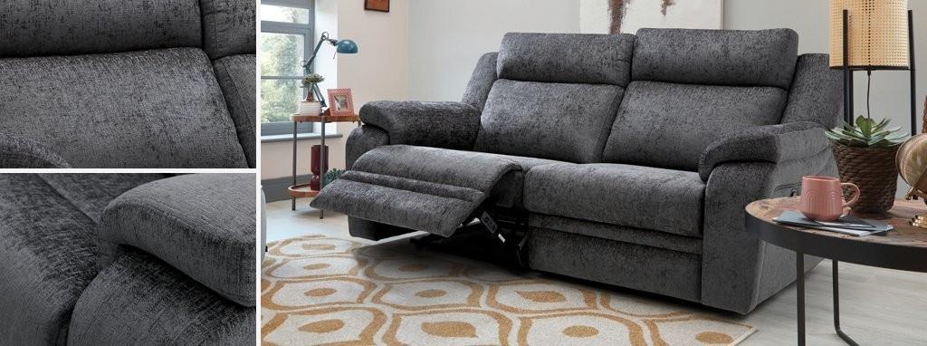 Astonishing Barrett 3 Seater Manual Recliner Creativecarmelina Interior Chair Design Creativecarmelinacom