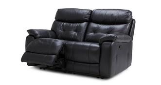 Bartley Leather and Leather Look 2 Seater Manual Recliner