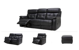 Bartley Clearance 3 Seater Manual Recliner, 2 Seater Power, Power Chair & Stool Premium