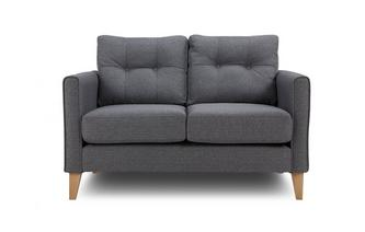 Compact Sofa Textured Weave