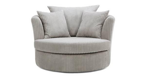 Baxter Large Swivel Chair