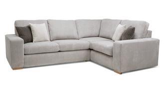 Baxter Left Hand Facing 2 Seater Corner Sofa