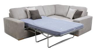 Baxter Left Hand Facing 2 Seater Deluxe Corner Sofa Bed