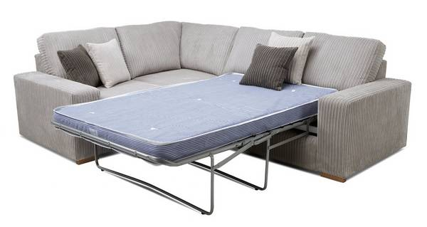 Baxter Right Hand Facing 2 Seater Deluxe Corner Sofa Bed