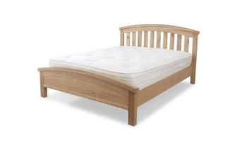 Bay Side King Bedframe Bayside Oak