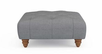 Beatrice Square Button Top Footstool