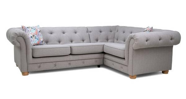 Beatrice Left Hand Facing 2 Seater Corner Sofa