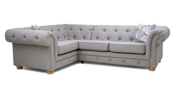 Beatrice Right Hand Facing 2 Seater Corner Sofa