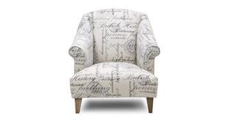 Beaumont Script Accent Chair