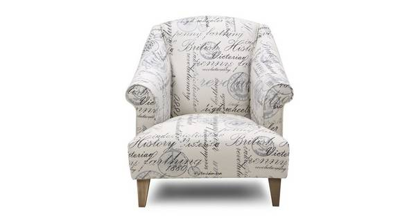Beaumont Script Accent Chair
