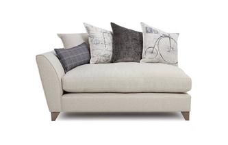 Left Hand Facing Arm Small Sofa Unit Beaumont