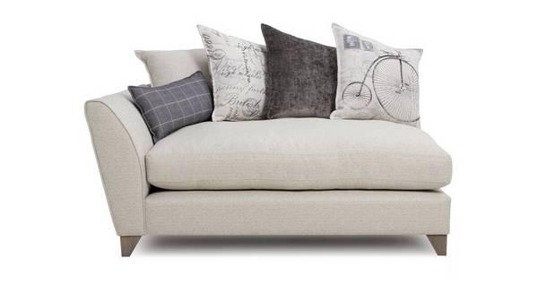 Beaumont Left Hand Facing Arm Small Sofa Unit
