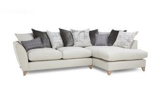 Left Hand Facing Arm Medium Corner Sofa Beaumont