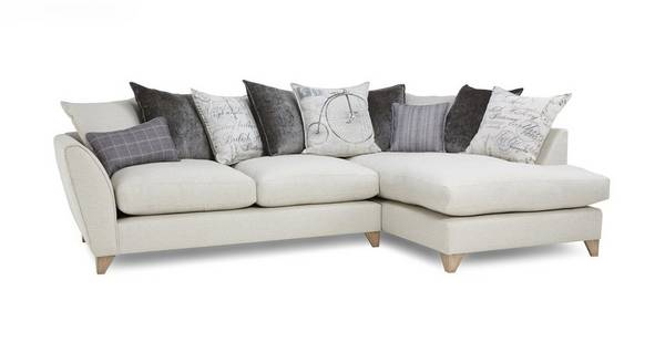 Beaumont Left Hand Facing Arm Medium Corner Sofa