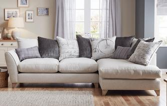 Beaumont Left Hand Facing Arm Medium Corner Sofa Beaumont