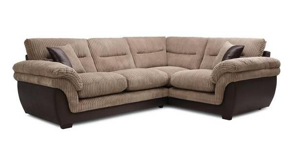 Beckton Left Hand Facing Arm 2 Piece Corner Sofa