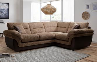 Beckton Left Hand Facing Arm 2 Piece Corner Sofa Samson