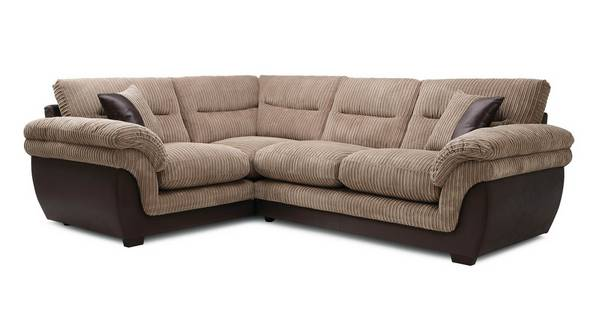 Beckton Right Hand Facing Arm 2 Piece Corner Sofa