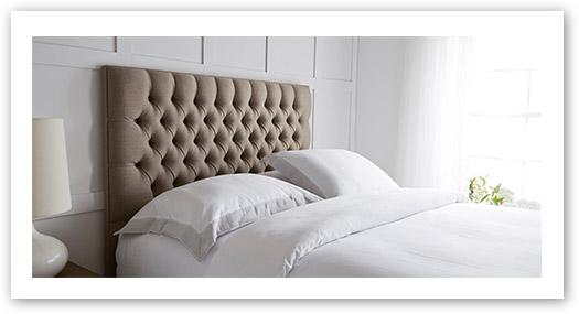 Style up with a headboard