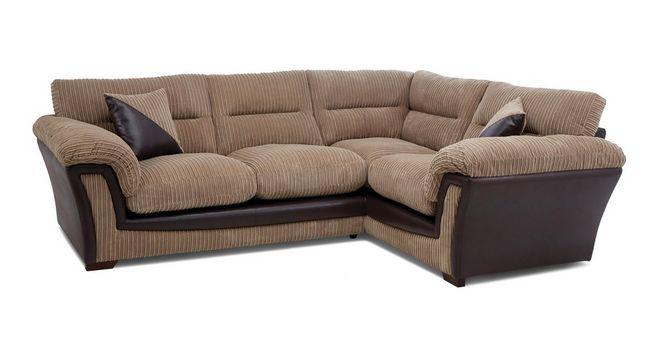 Bedale: Left Hand Facing Arm 2 Piece Corner Sofa
