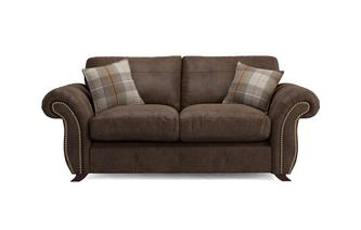 Bedford Formal Back 2 Seater Deluxe Sofa Bed Oakland