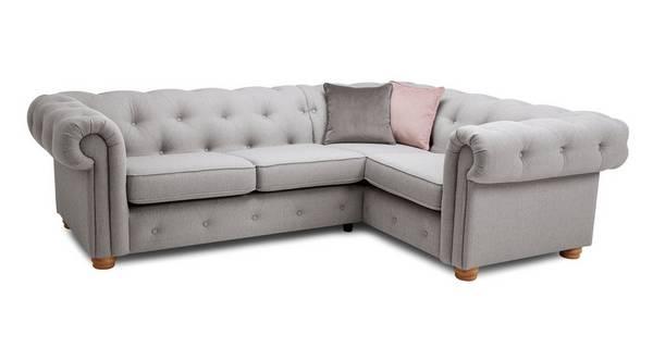 2 Seater Corner Sofa Cotswold Plain, L Shape Sofas Dfs